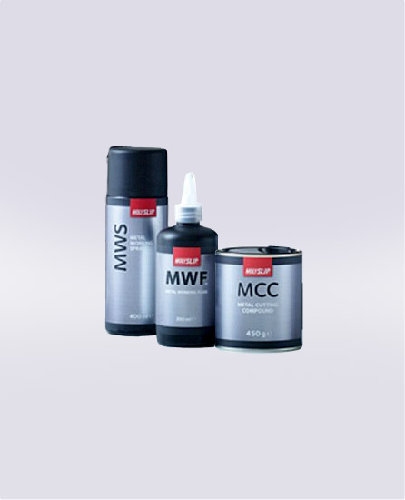 MCC, MWF and MWS metal working lubricants