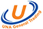 UNA General Trading Logo for Mobile