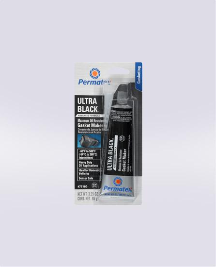 Permatex® Ultra Black® Maximum Oil Resistance RTV Silicone Gasket Maker