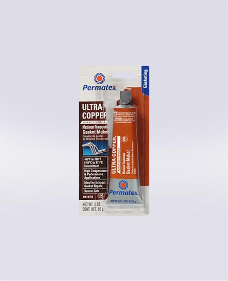 Permatex® Ultra Copper® Maximum Temperature RTV Silicone Gasket Maker