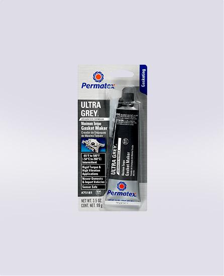 Permatex® Ultra Grey® Rigid High-Torque RTV Silicone Gasket Maker