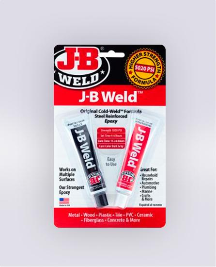 J-B WELD™ TWIN TUBE - 2 OZ (SKU: 8265S)