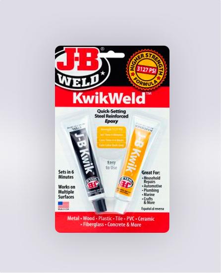KWIKWELD™ TWIN TUBE - 2 OZ (SKU: 8276)