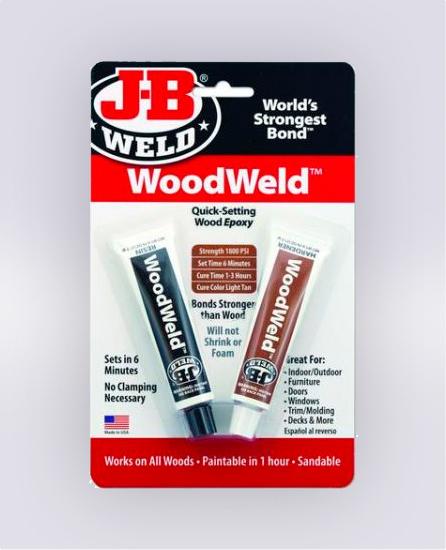 WOODWELD™ TWIN TUBE - 1.5 OZ (SKU: 8251)