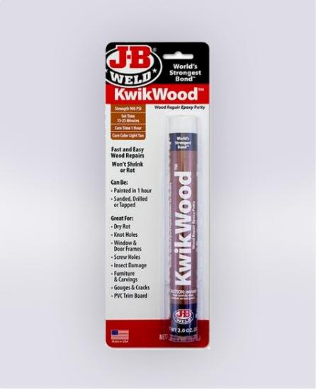 KWIKWOOD™ EPOXY PUTTY - 2 OZ (SKU: 8258)
