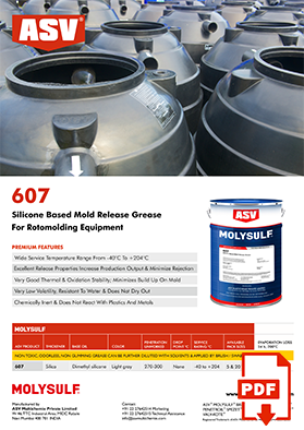 607 Mold Release Grease Flyer 2020