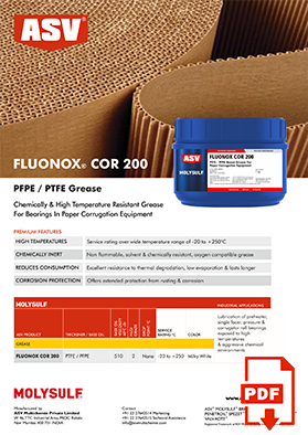 Fluonox COR 200 Flyer 2020