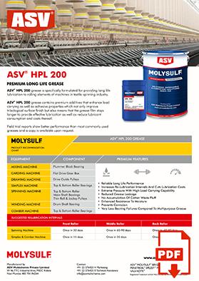 HPL 200 grease flyer 2020
