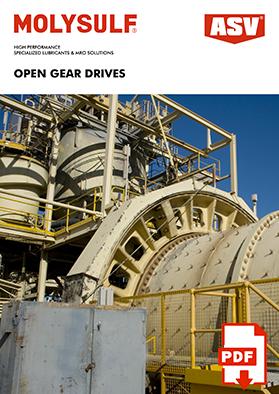 Open Gear Drive Lubricants 2020