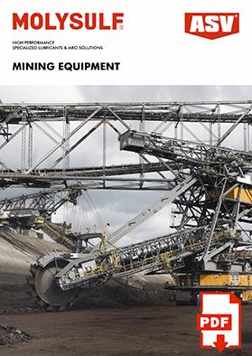 ASV Lubricants For Mining Equipment Catalog 2020